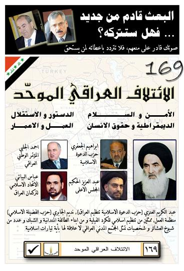 Allawi has been on the same elections poster as the Hakims earlier...
